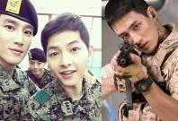 Ahn Bo Hyun with Song Joong Ki