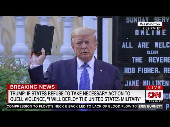 Donald Trump bible