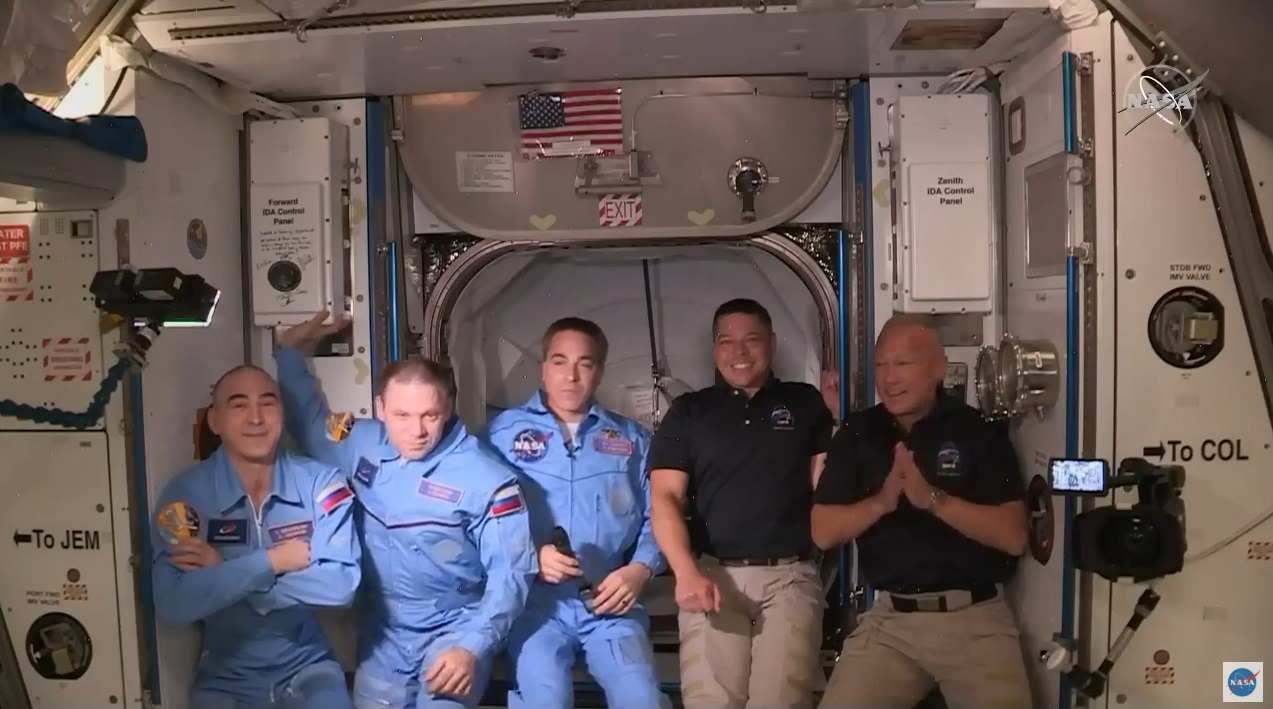 Elon Musk's SpaceX sends 2 astronauts into space
