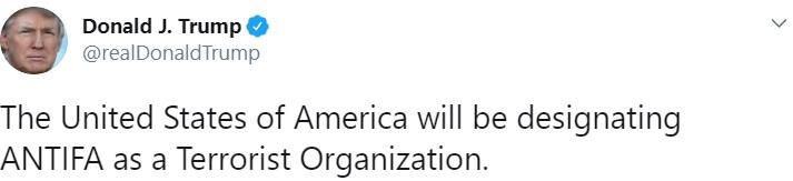 Donald Trump Antifa