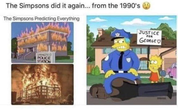 The Simpsons and George Floyd's Death