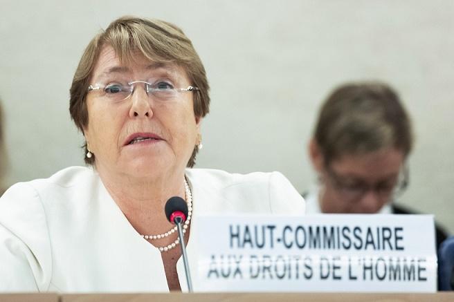 Michelle Bachelet, UN