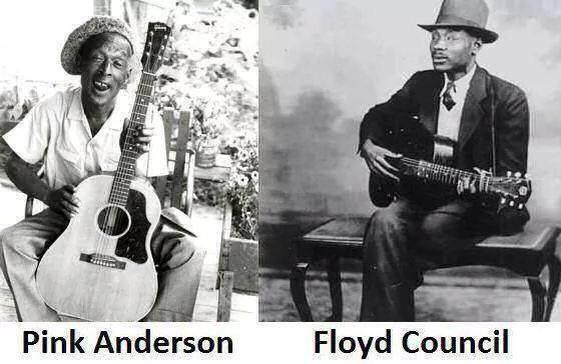 Pink Anderson and Floyd Council