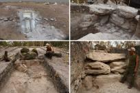 Mayan Architecture, Megalithic structure found in operation NR8