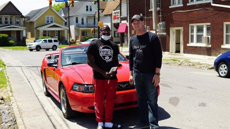 Antonio Gwynn Jr. got his car