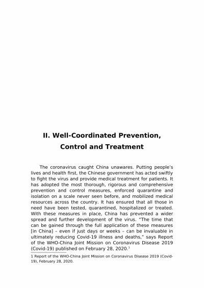 Chinese officials have released documents related to the countrys battle against novel Coronavirus