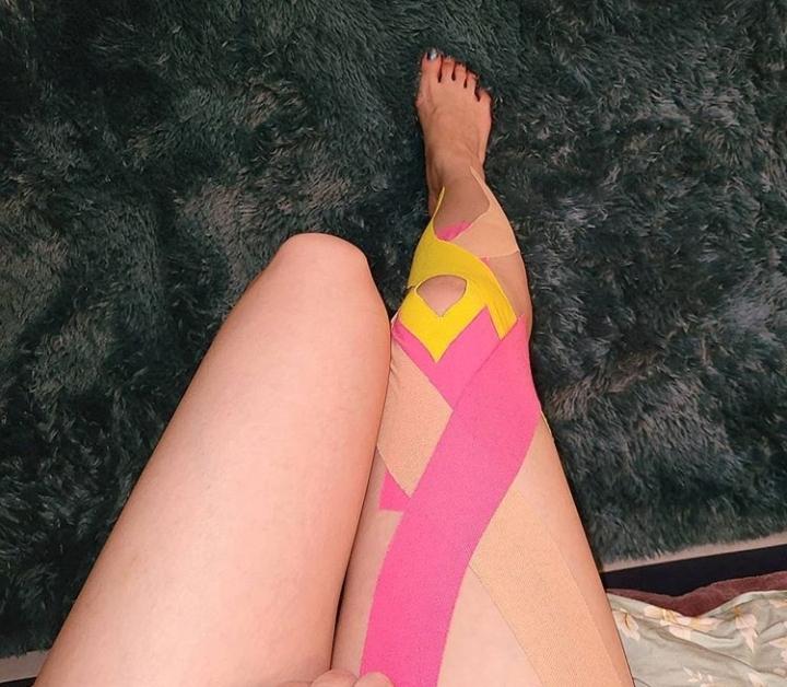 Sunmi leg injury