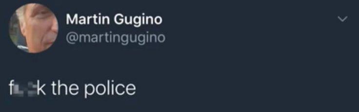 Martin Gugino's tweet