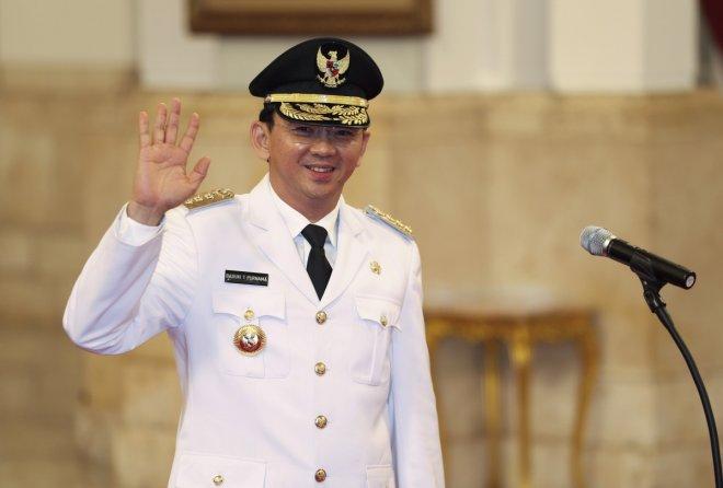 Jakarta Governor Basuki