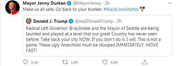 Seattle Mayor Tweet