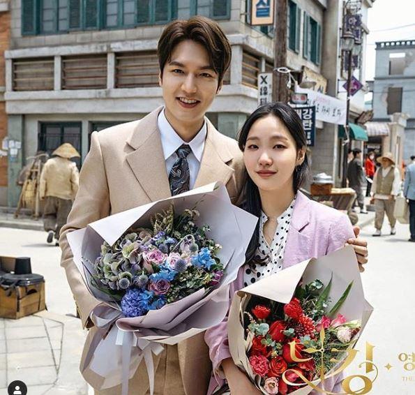 Lee Min Ho and Kim Go Eun