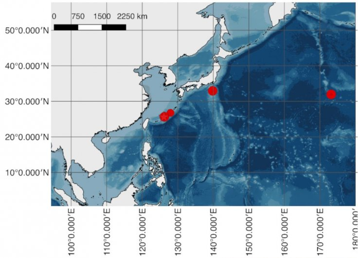 North-western Pacific Ocean
