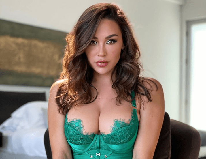 Ana Cheri Dons Sexy Lingerie
