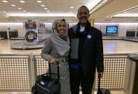 Ilhan Omar with her Father