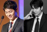 Song Joong Ki and Lee Min Ho