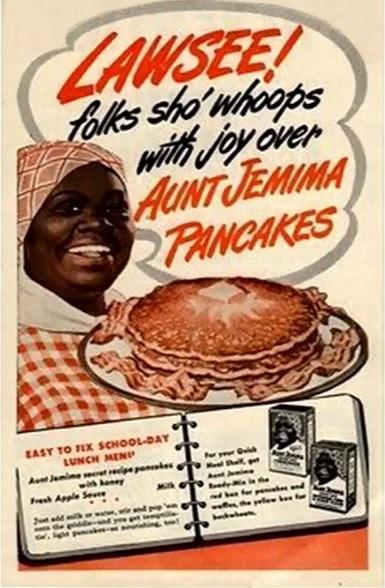 Aunt Jemima old logo
