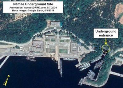 North Korea satellite images