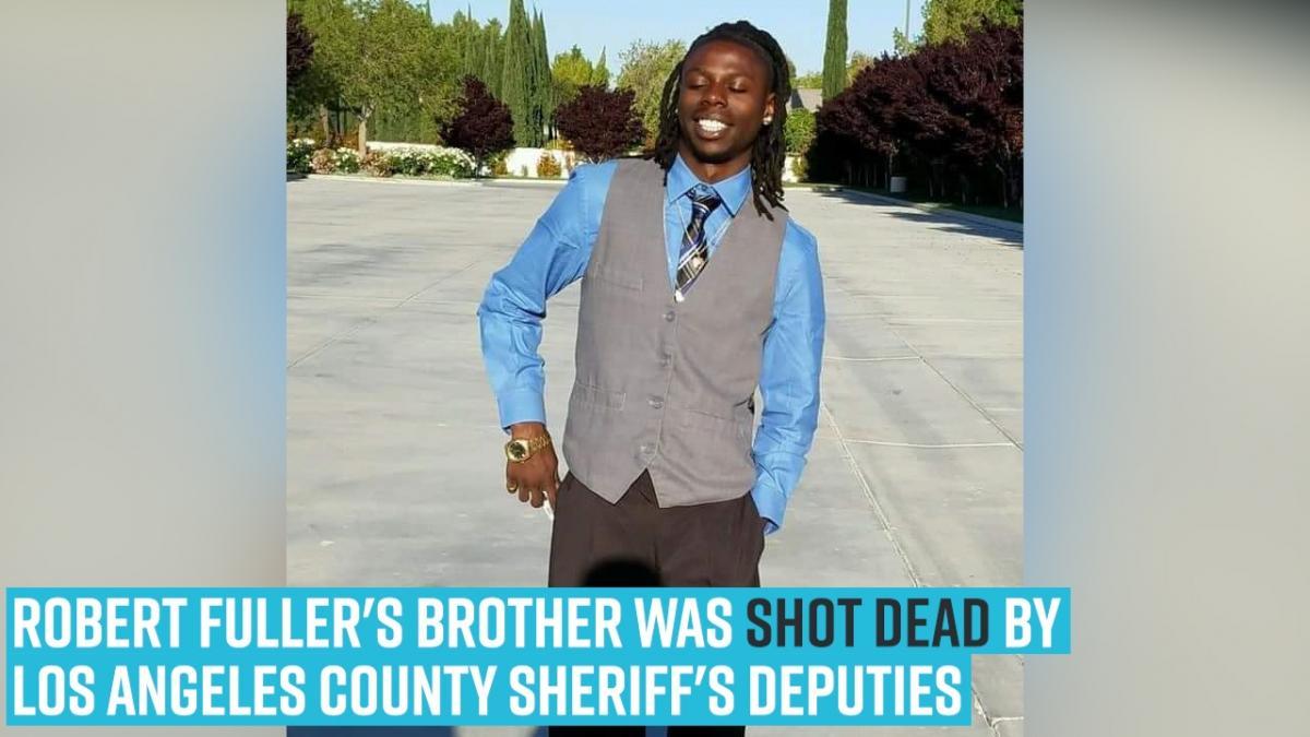 Andres Guardado Video Porno robert fullers brother was shot deadlos angeles county sheriffs deputies