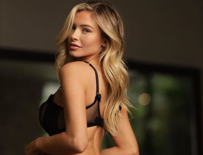 Hannah Palmer Looks Drop-Dead Gorgeous