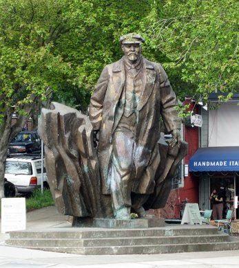 Lenin statue in Seattle