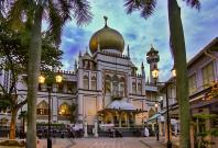 The Sultan Mosque at Kampong Glam, Singapore