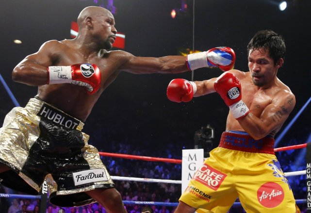 Manny Pacquiao v Floyd Mayweather