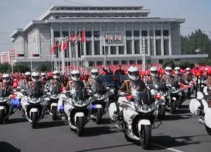Pyongyand parade, North Korea