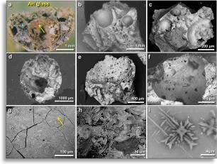 Abu Hureyra soil sample under microscope