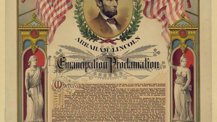 abraham lincoln's emancipation proclaimation