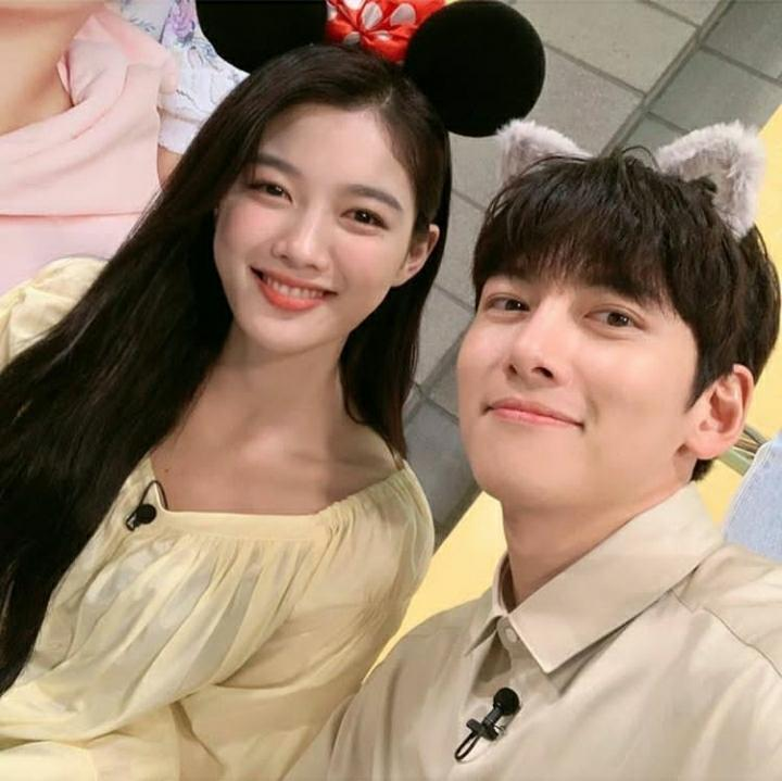 Kim Yoo Jung and Ji Chang Wook