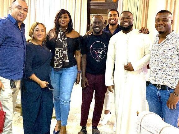 Daddy Freeze with Hushpuppi