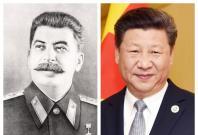 Joseph Stalin and Xi Jinping