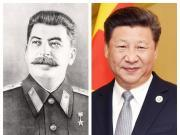 Joseph Stalin and Xi Jinping
