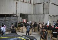 Pakistan Stock Exchange attack