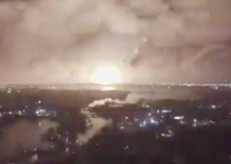 Tehran explosion