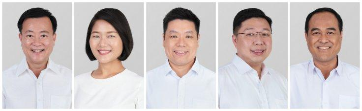 PAP candidates in Aljunied GRC