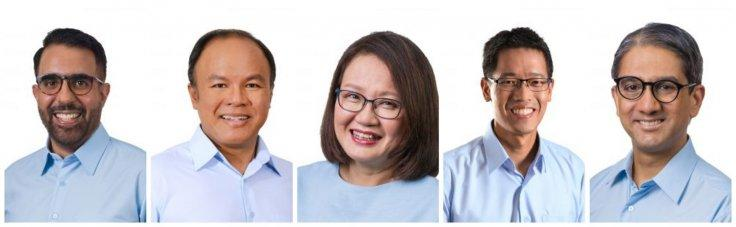 WP candidates from Aljunied GRC