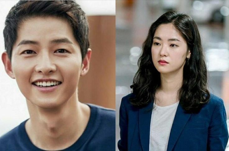 Song Joong Ki and Jeon Yeo Bin