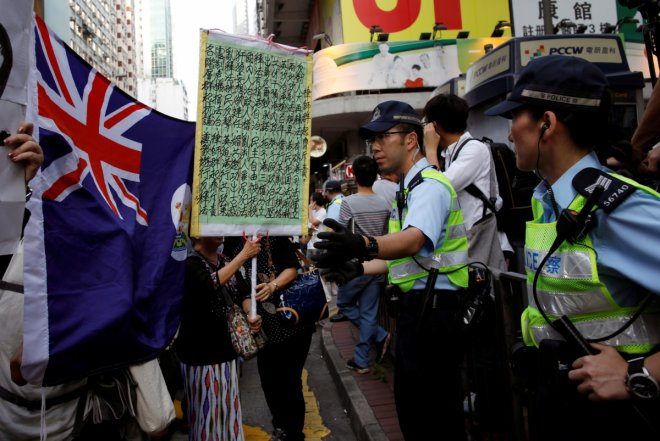 Hong Kong in chaos as thousands of anti-China protestors clash with police (PHOTOS)