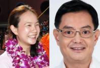 Nicole Seah and Heng Swee Keat