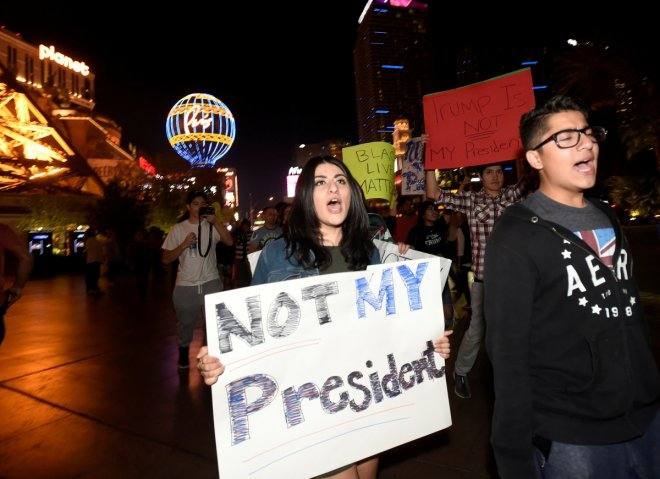 Trump victory sets off wide scale protests in US; five shot in Seattle