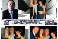 Trump with Jeffrey Epstein and Ghislaine Maxwell