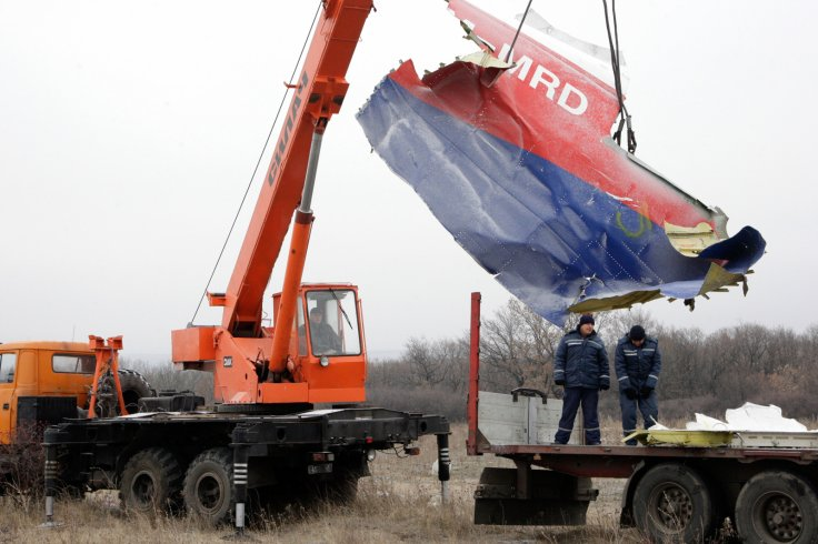 Downed MH17 plane, Ukraine