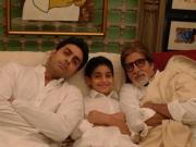 Amitabh Bachchan, Son and Grandson