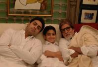Amitabh Bachchan, Son and Grandson