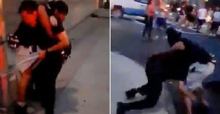 Bronx man puts NYPD cop in headlock