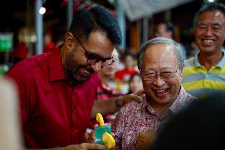 Pritam Singh and Dr Tan Chen Bock