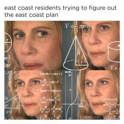 East Coast memes