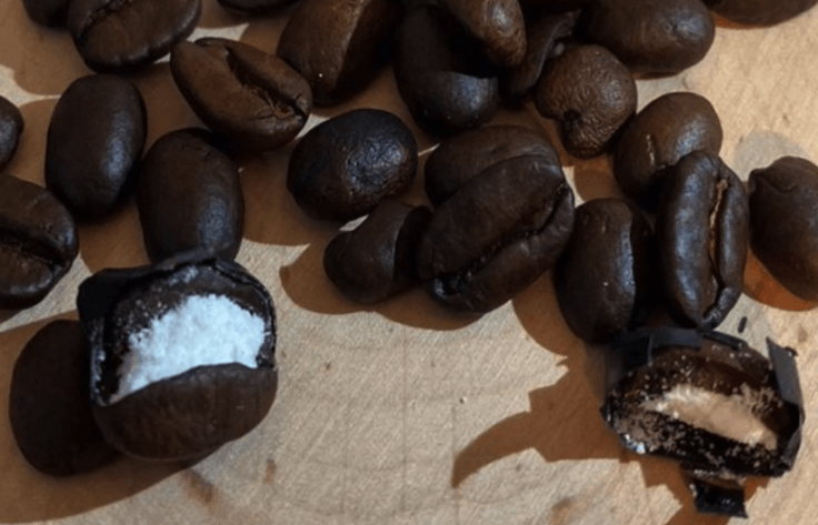 cocaine coffee beans