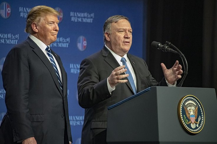 Trump and Pompeo